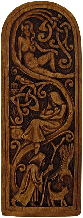Dryad Design Maid, Mother, Crone Plaque Wood Finish