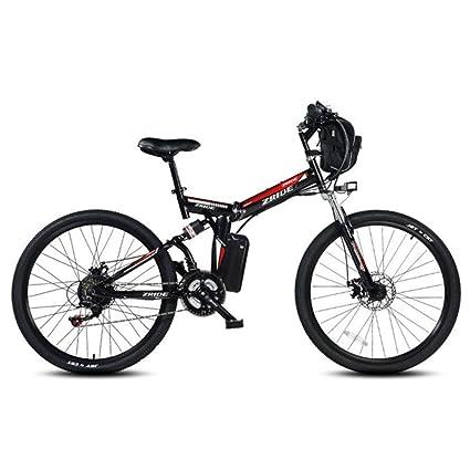 """ZXD007 26"""" Bicicleta Eléctrica Plegable, E-Bike, 48V 240W Motor Das-"""