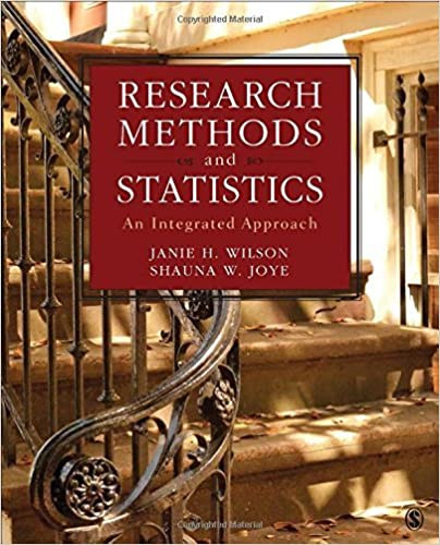 Book Research Methods and Statistics: An Integrated Approach by Janie H. Wilson (2016-08-04)