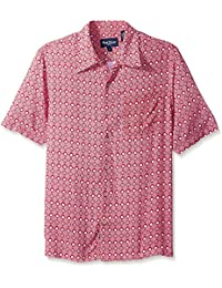 Men's Solid Short Sleeve Shirt