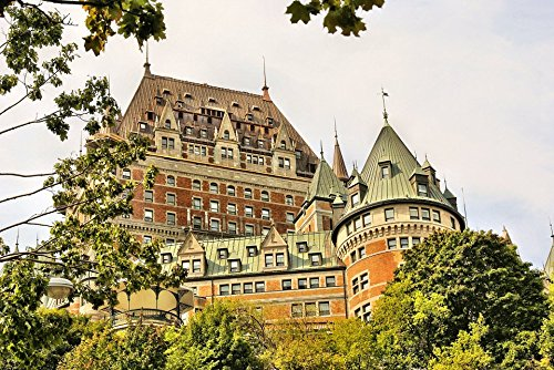 (Peel-n-Stick Poster of Frontenac QuÃbec Canada Hotel Poster 24x16 Adhesive Sticker Poster Print)