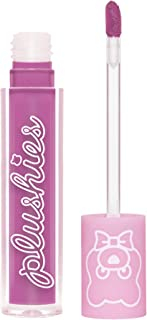 product image for Lime Crime Plushies Soft Matte Lipstick, Violet - Pinky Purple - Blackberry Candy Scent - Long Lasting, Nude Lips - Soft Focus, Non-Opaque Lip Veil - 0.11 fl oz