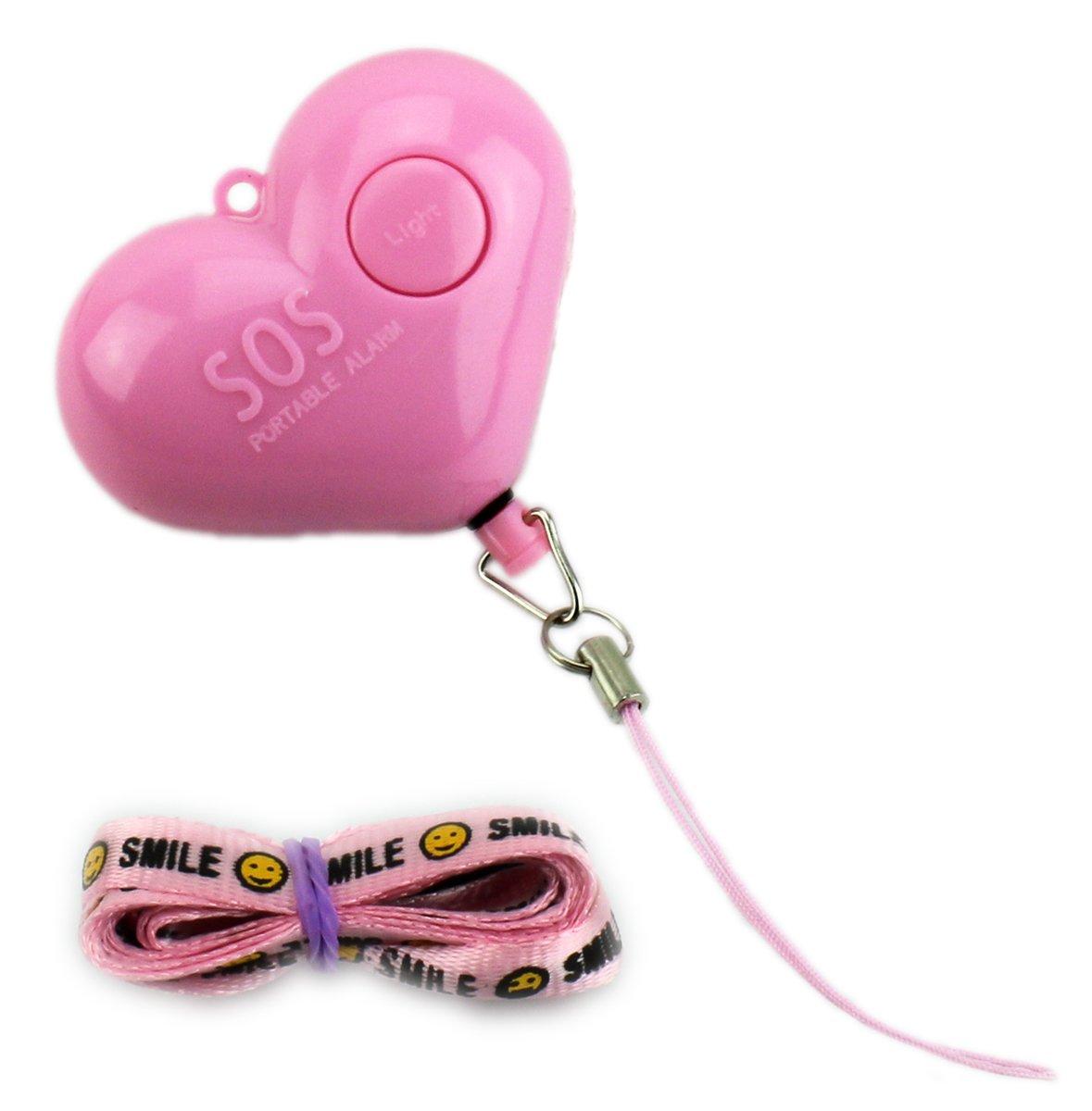 Taschenalarm Herz Womanizer v1.1 extem Lauter Sicherheitsbegleiter 140dB