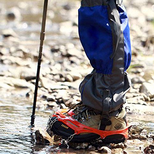 broadroot Anti-Rutsch Ice Cleats Schuh Stiefel Grips Steigeisen Kette Spike Sharp