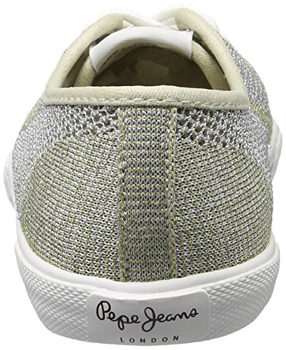 Fishnet Sneakers Femme Metal Pepe Basses Gold Or Aberlady Jeans FqnEwEZB