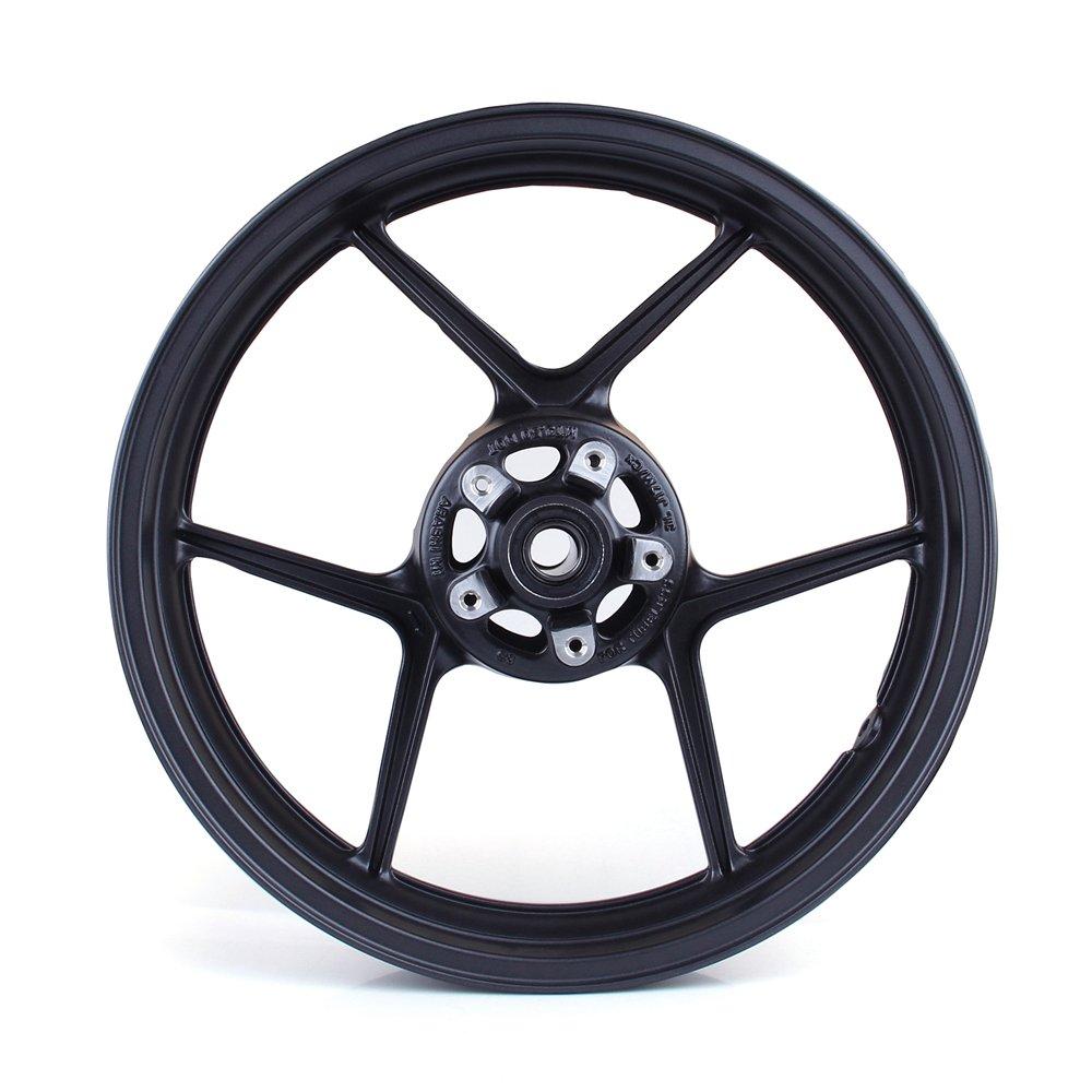Artudatech Front Wheel Rim For Kawasaki ZX6R 2009-2010 ZX10R 2006-2010 Black by Artudatech (Image #1)