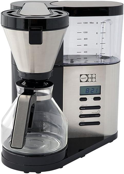 Amazon.com: Motif Elements - Cafetera, Cristal, M: Kitchen ...