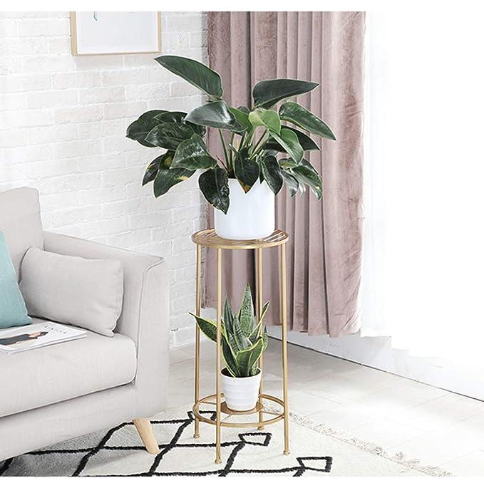 Amazon.com: Estantería para macetas con soporte para plantas ...