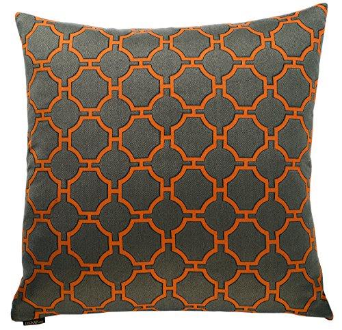 Canaan Company Kinder Decorative Throw Pillow, Orange (Canaan Company Pillow compare prices)