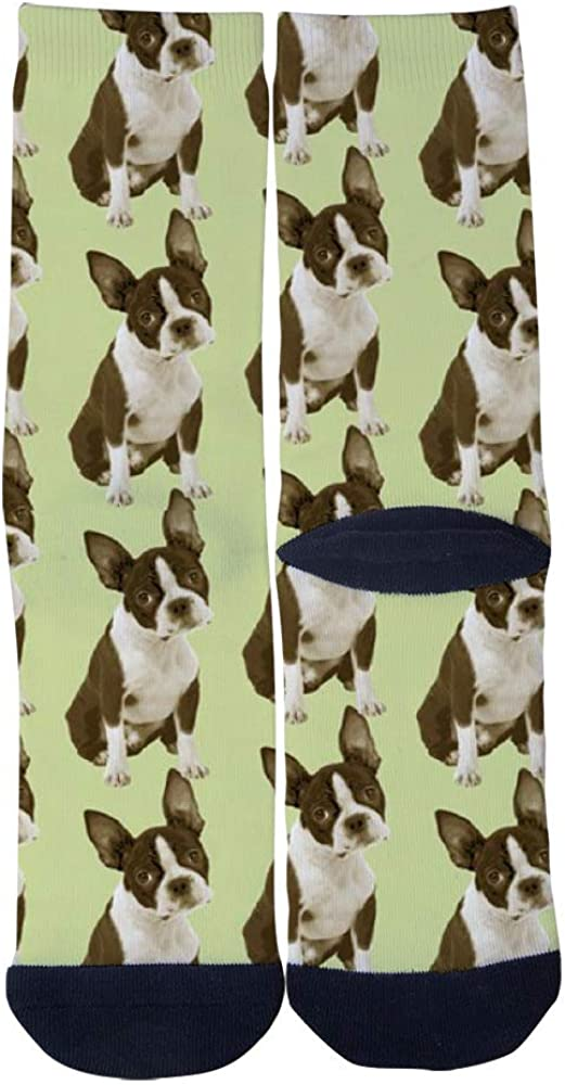 All The Pug Dog AlyGoo 3D Print Funny Custom Crew Casual Socks