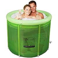 ABBD Bañera SPA Doble Plegable para Adultos, bañera