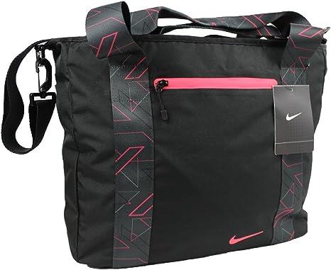 paquete Encarnar oficina postal  Nike Damen Sporttasche Tragetasche Tasche Sport Fitness Reisen schwarz:  Amazon.de: Koffer, Rucksäcke & Taschen