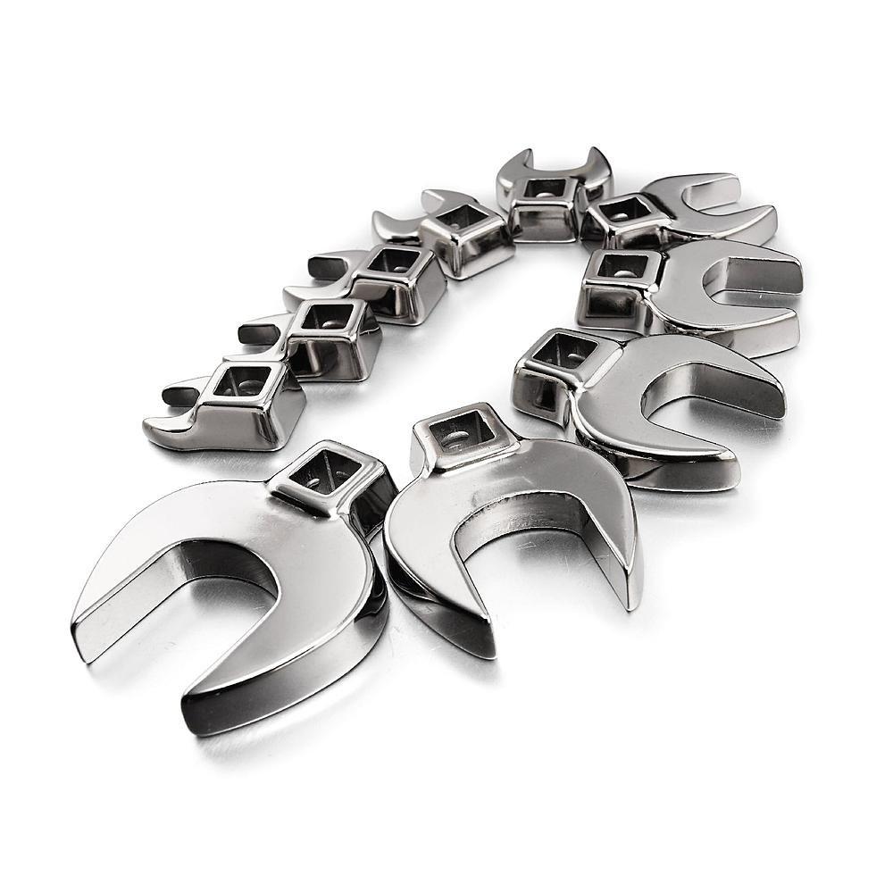 Craftsman 10 Piece Standard Crowfoot Wrench Set, 9-4362