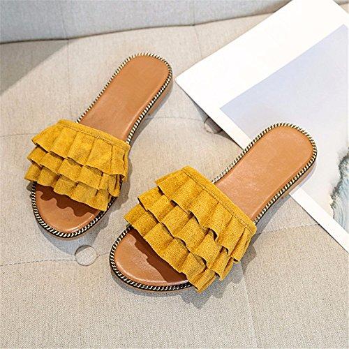 YMFIE ladies toe sandali antislittamento d Estate aperto pantofole temperamental traspirante fashion wIIOr8