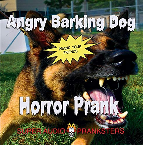 Angry Barking Dog Horror Prank CD - Scare your friends