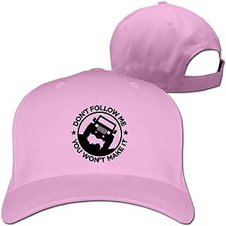 Feruch Dont Follow Me You Wont Make ItHat White Baseball Caps Pink