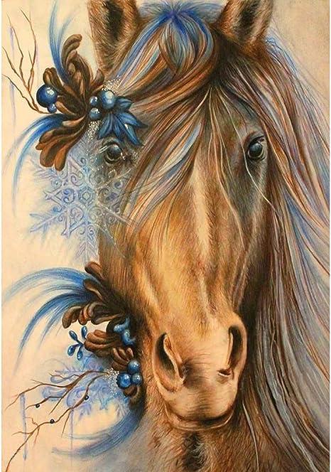 5D Diamond Painting Indian Painted Ponies Kit