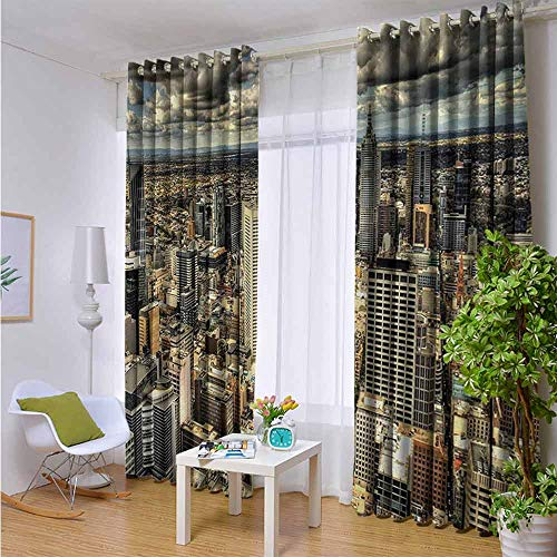 Custom Pattern Curtains Decoration Draperies for Living Room 72