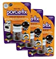 Bulk Buy: Lot of 3 Packages of Porc-a-fix Aluminum High Heat touch-up Kit