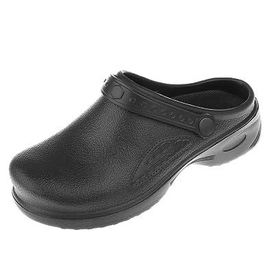 IPOTCH Sicherheits-Sandale Sicherheitsclog Arbeitsschuhe Berufsschuhe Küche  Sicherheitsschuhe für Herren Damen