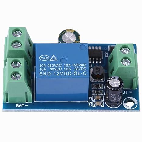 Módulo de conmutación de batería de Reserva de CC, 12V 24V ...