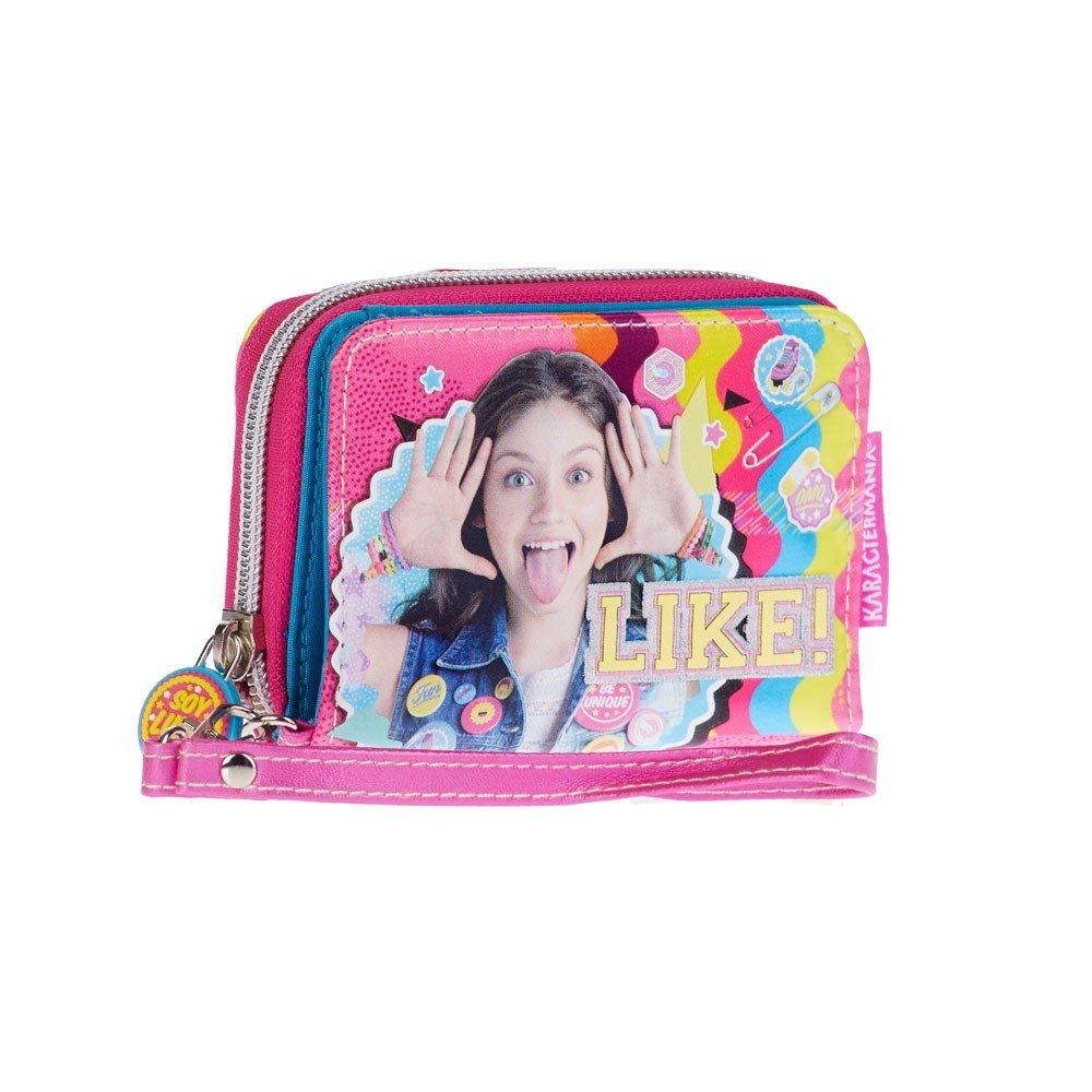Amazon.com: Disney Soy Luna Sonrisa Kid Girl tarjeta cartera ...