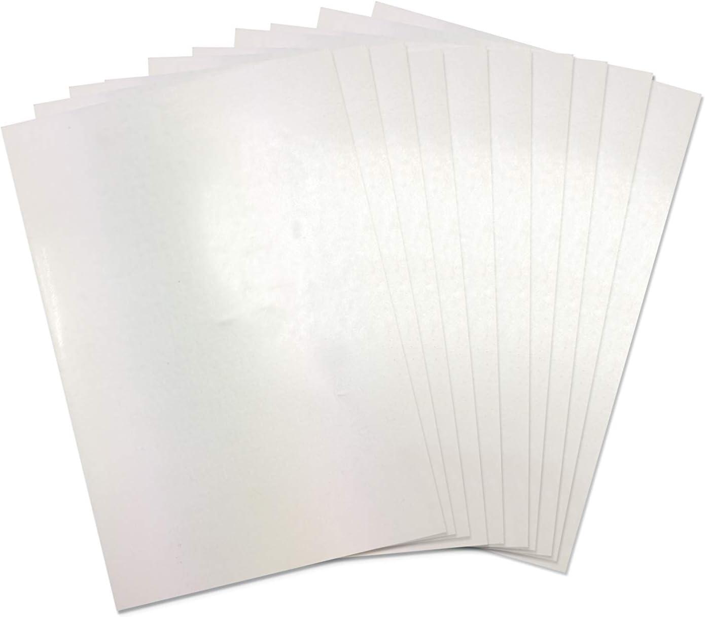 Sizzix Accesorio, Plástico retráctil 10PK (hojas A4), , Única