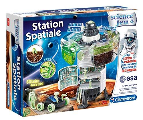 Clementoni - 52111.1 - Jeu Scientifique - Station Spatiale