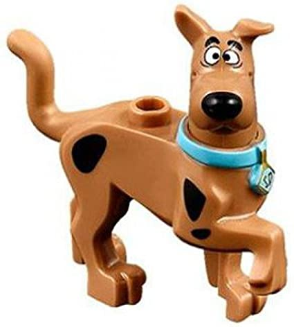 LEGO SCOOBY-DOO MINIFIGURE SCOOBY DOO DOG OPEN MOUTH GRIN MYSTERY MACHINE 75902