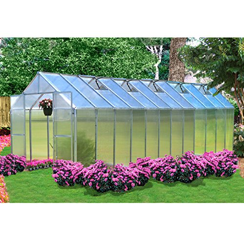 Monticello Greenhouse 24ft Aluminum