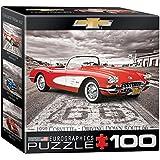 Eurographics 8104-0665 1959 Corvette on Route 66 100-Piece Mini Puzzle