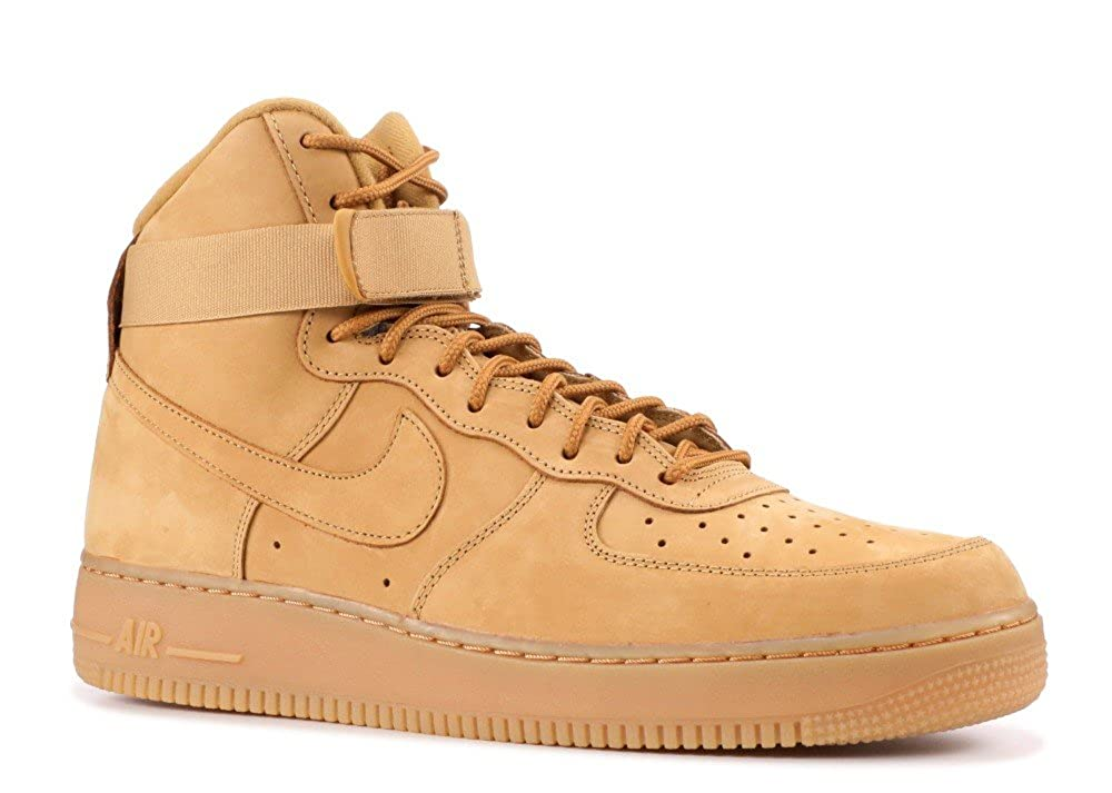 Flax, Flax-outdoor vert Nike Air Force 1 High '07 LV8, Chaussures de Sport - Basketball Homme 42 EU