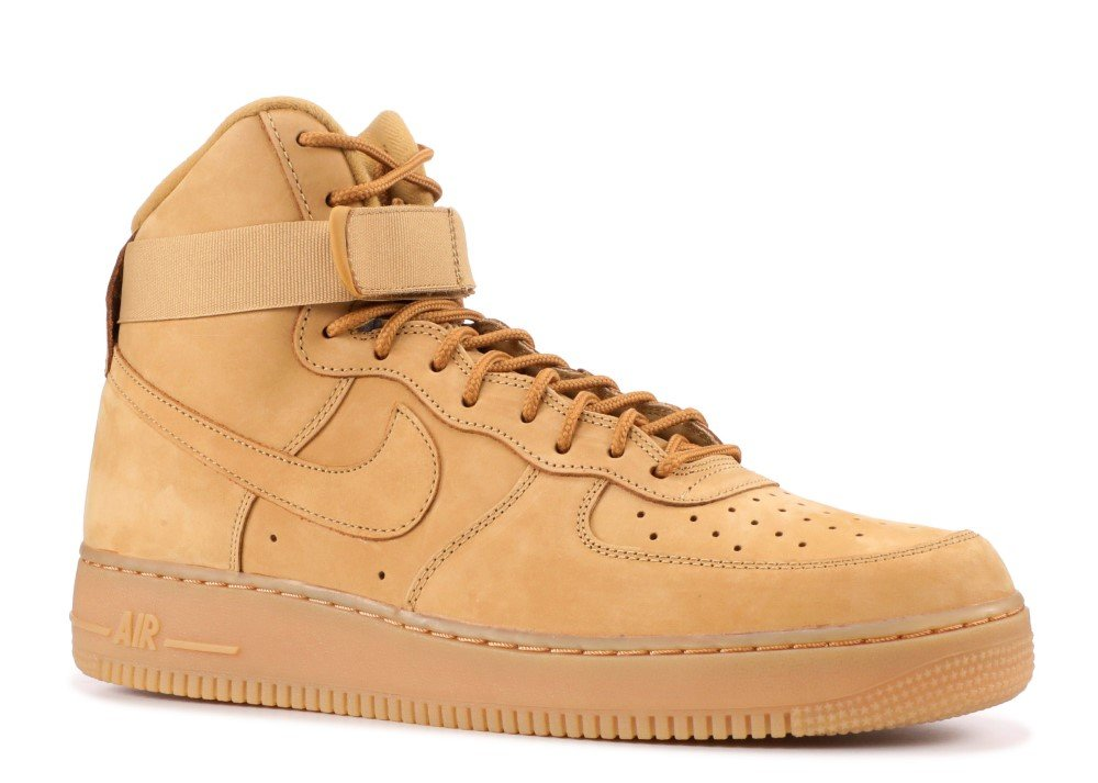 NIKE Air Force 1 high 07 LV8 Men's Shoes FlaxFlax Outdoor Green 806403 200