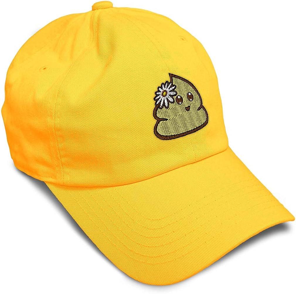 Custom Soft Baseball Cap Girly Poop Embroidery Dad Hats for Men /& Women