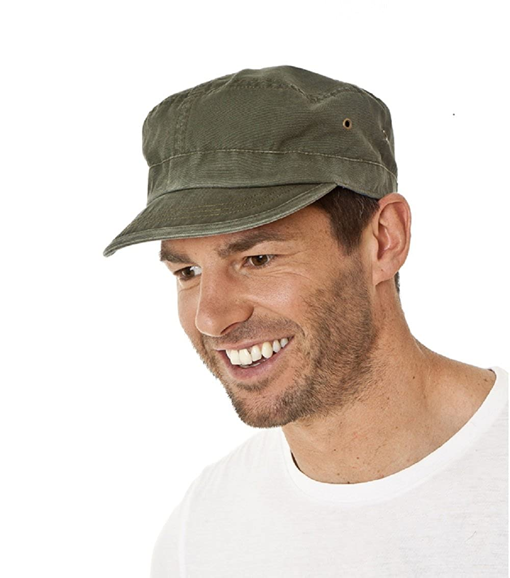 a8ca1fc2 The Hat Company Men's Cotton Engineers Cap