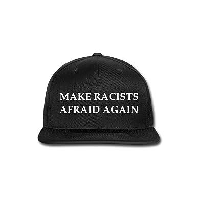 Amazon.com  Spreadshirt Make Racists Afraid Again Funny Slogan ... 608bc139541