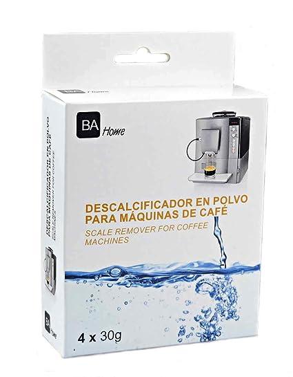 SpareHome Descalcificador para cafeteras automaticas y capsulas: Delonghi, Krups, Siemens, Krups Nesspresso