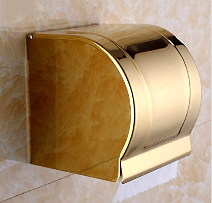 RSQJ Porta-Toallas Europeo de Cobre Porta-Papel Higiénico Porta-Papeles Portarrollos Porta