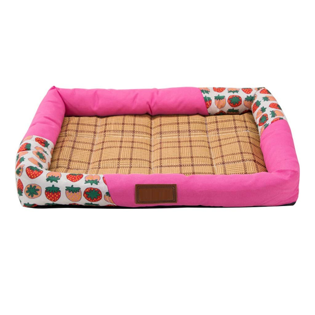 2  50cm41cm6cm 2  50cm41cm6cm DSADDSD Pet Bed Kennel Mat Mat Comfortable Bite Dog House Dog Bed Pet Supplies (color   2 , Size   50cm41cm6cm)