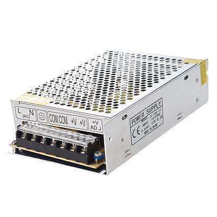 TOOGOO(R) Transformador Corriente de AC 110V 220V a DC 12V 8.5A 100W