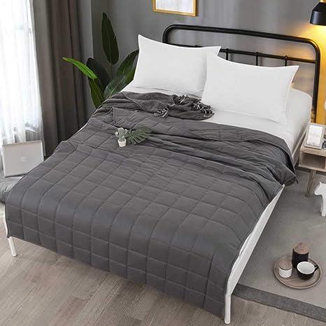 Manta ponderada con 2 fundas nórdicas para personas duermen con calor frío 36x48