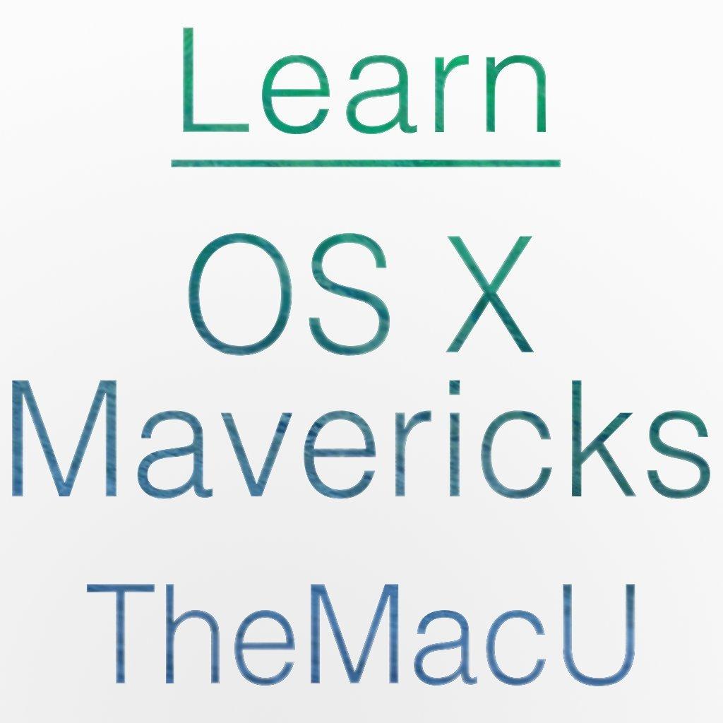 Amazon com: Learn - OS X Mavericks Video Training Course