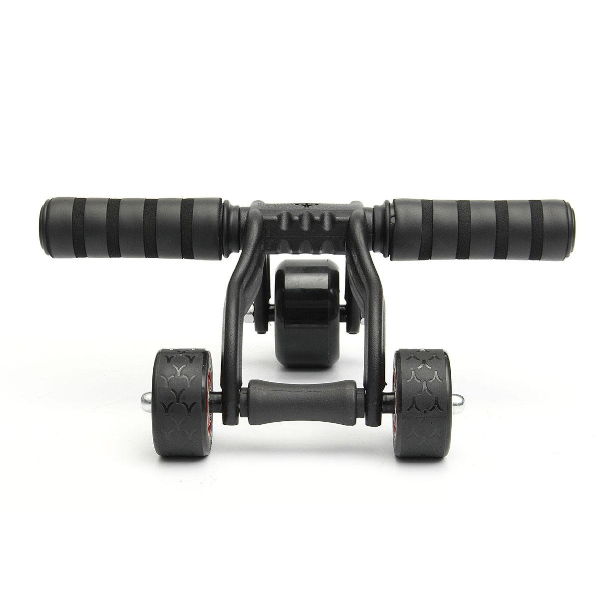 Abdominal Roller Wheel -Abdominal Wheel Ab Roller - 3 Wheels Abdominal Roller Ab Muscle Fitness Workout Training System Gym Exerciser (Abdominal Roller Wheel New)