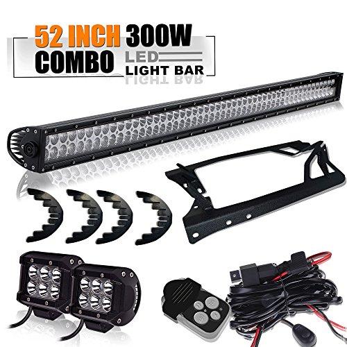 52Inch LED Light Bar + Pair 4