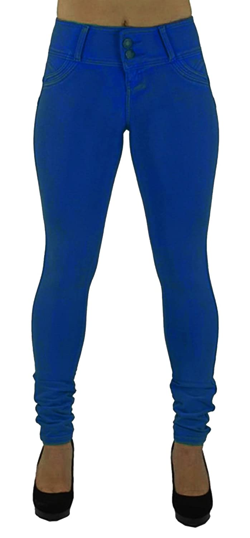 Bestfort Jeans Damen Denim Jeans Neue Art Stretchy Hosen