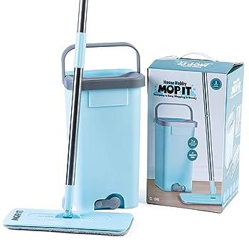 House Hubby Bucket & Flat Squeeze Mop