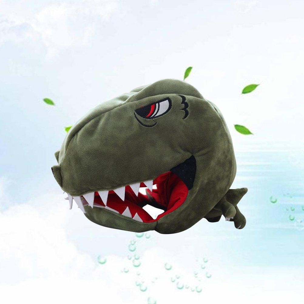 Accesorio de Disfraz de Dinosaurio Amosfun Gorro de Dinosaurio para Adultos y ni/ños