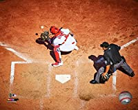 "Yadier Molina 2017 St. Louis Cardinals Action Photo (Size: 20"" x 24"")"