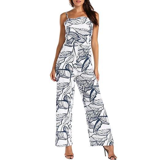 dcd88c6347f Amazon.com  Women Wide Leg Pants Jumpsuit
