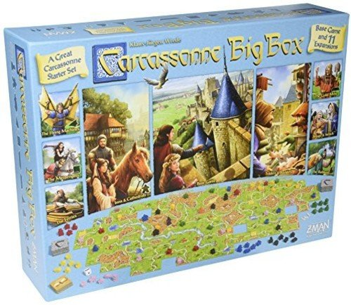 Fantasy Flight Games Carcassonne Big Box 2017